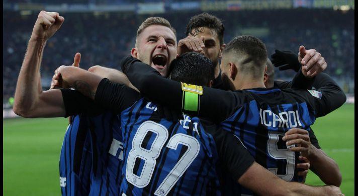 Inter goleó y volvió a mirar desde arriba la Serie A