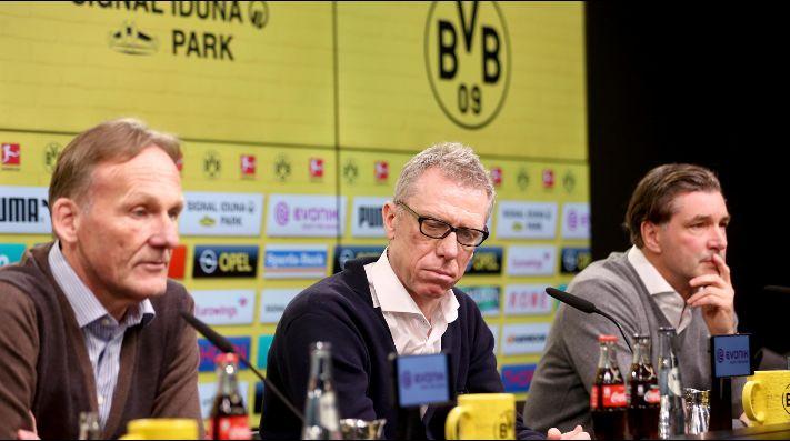 Borussia Dortmund reemplazó a Bosz por Stoger