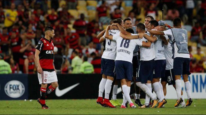 Independiente le dedicó un tweet al Flamengo luego de ganar la Copa Sudamericana