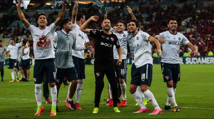Racing felicitó a Independiente por la obtención de la Copa Sudamericana