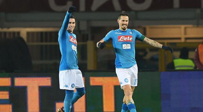Hamsik iguala a Maradona como máximo goleador del Nápoles