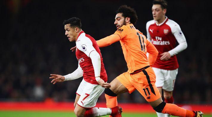 Arsenal y Liverpool igualaron 3-3 tras un partidazo en Londres