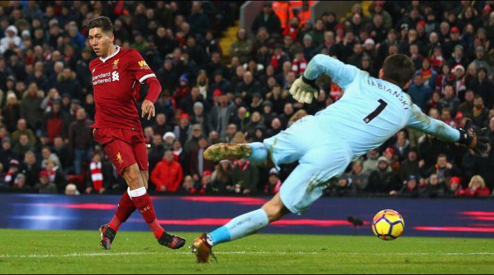 Liverpool golea al Swansea City