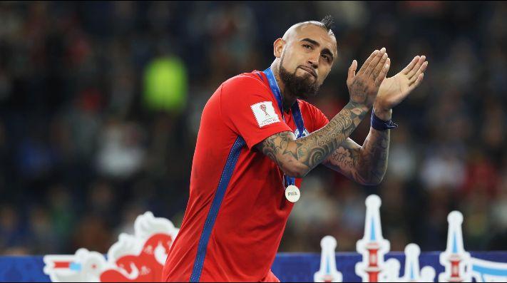Vidal respondió a los argentinos que hicieron su muñeco en Año Nuevo