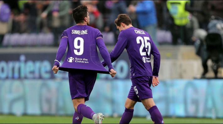 Fiorentina amarga al Inter sobre el final