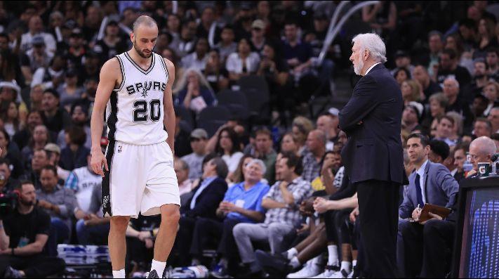 Ginóbili y Leonard dirigen la victoria de los Spurs