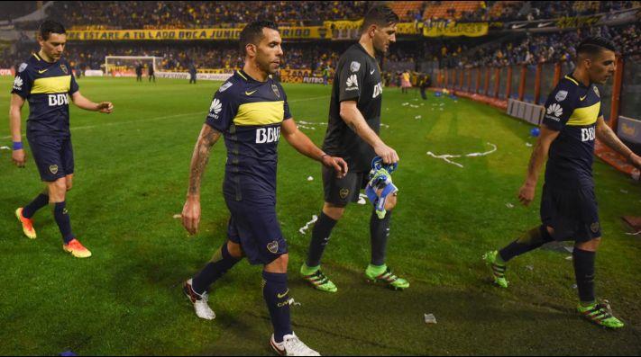 Carlos Tévez, en Boca: