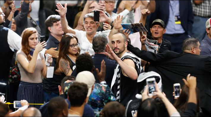 ÍDOLO. Manu quiere despedirse entrando al All Star Game.