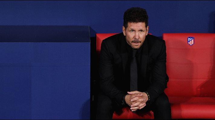Simeone asume la culpa por las eliminaciones de Copa y Champions