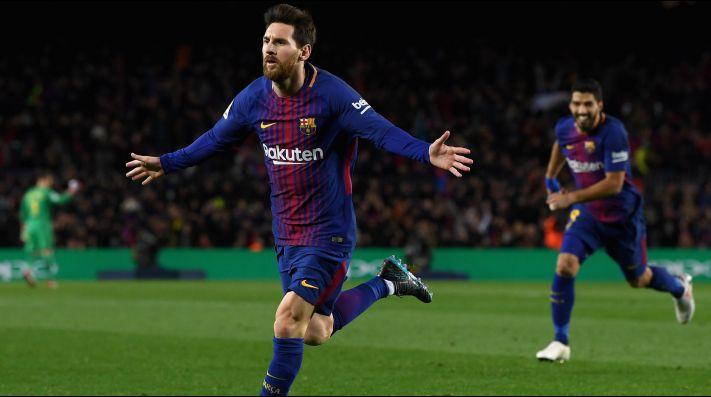 Messi superó a Cristiano Ronaldo como el jugador con más goles de tiro libre en los últimos años de La Liga