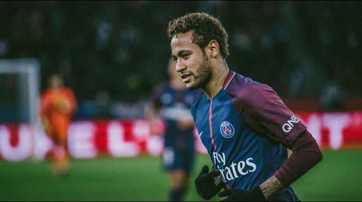 Neymar marca en goleada del PSG sobre el Lille