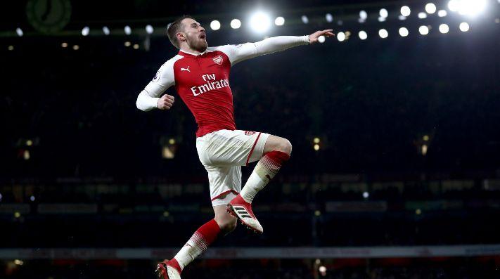 Ramsey espanta al mundo con espectacular hat trick ante el Everton