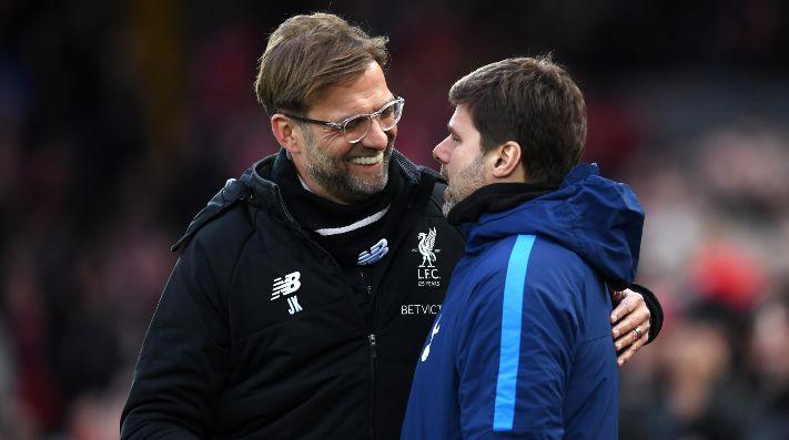Juez de línea celebra tras cobrar penal dudoso — Liverpool vs Tottenham