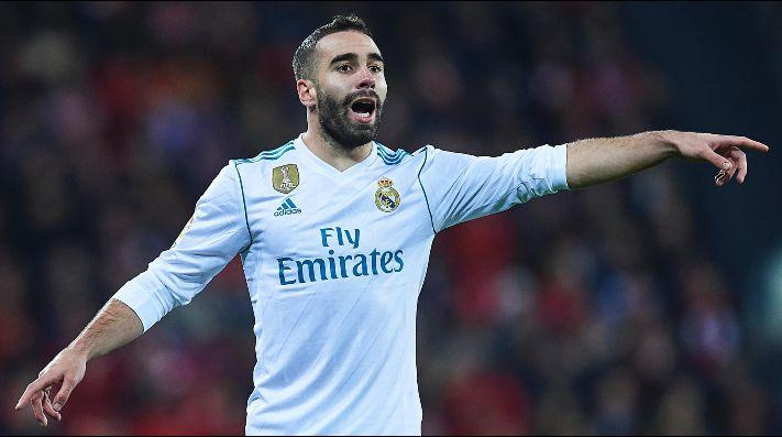 Dani Carvajal será baja ante el PSG por esta razón — Real Madrid