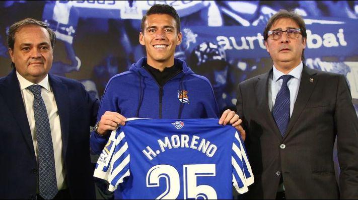 Camiseta Real Sociedad H.Moreno