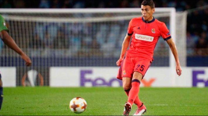 ¡De malas! Moreno se retira del entrenamiento de la Real Sociedad