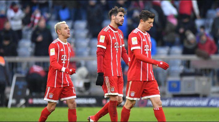 Heynckes confirma la ausencia de James frente al Hertha de Berlín
