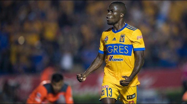 Enner Valencia anotó por duplicado para la victoria de Tigres ante Herediano.