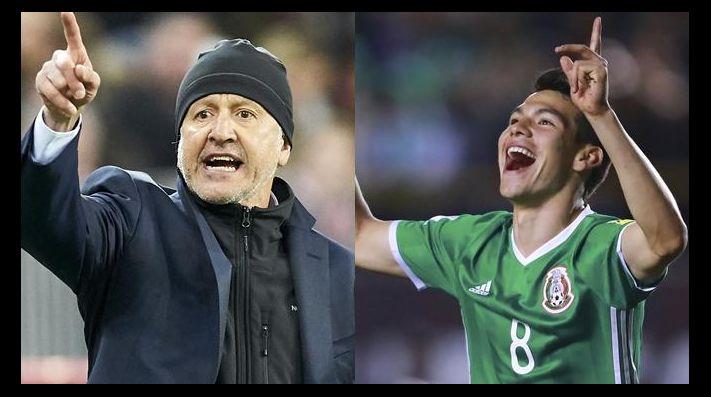 Juan Carlos Osorio visitó al 'Chucky' Lozano en entrenamiento del PSV
