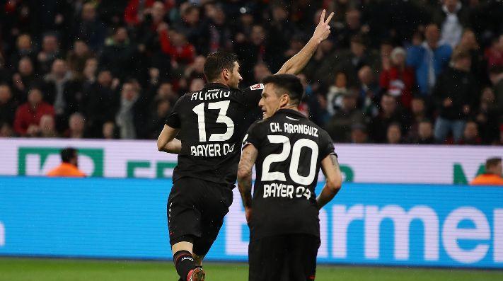 Aránguiz fue titular en victoria del Leverkusen sobre el Monchengladbach por Bundesliga