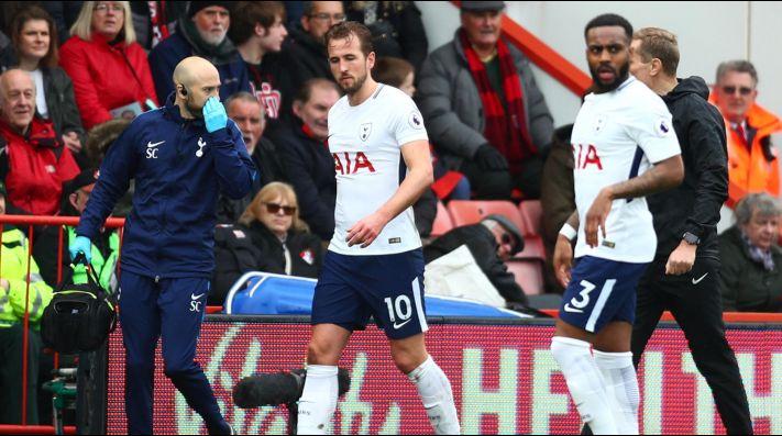 Alarma en selección Inglaterra: Harry Kane sufre lesión en el tobillo