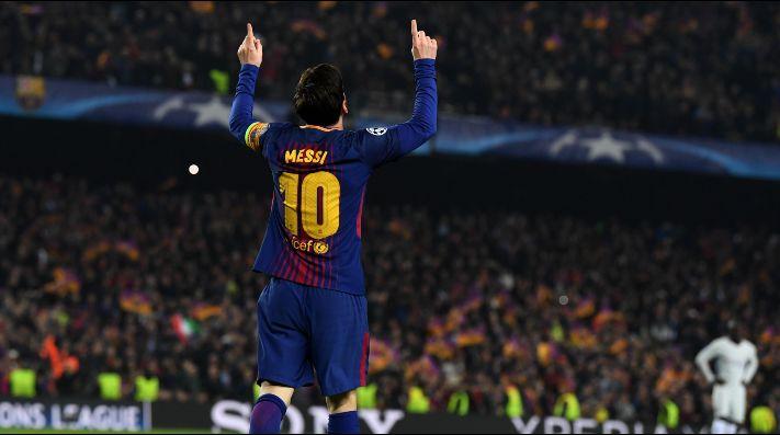 Lionel Messi, jugador de Barcelona.