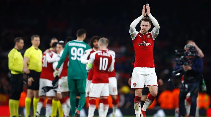 Aubameyang salvó al Arsenal en un reñido partido contra el Stoke City