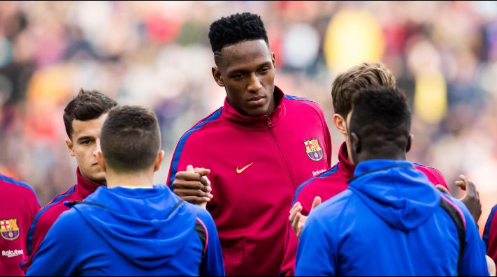 Yerry Mina, convocado para recibir al Athletic