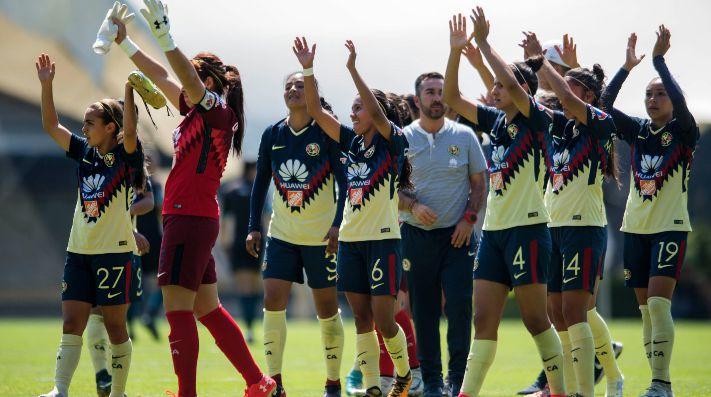 América golea a domicilio al Cruz Azul en Liga MX Femenil