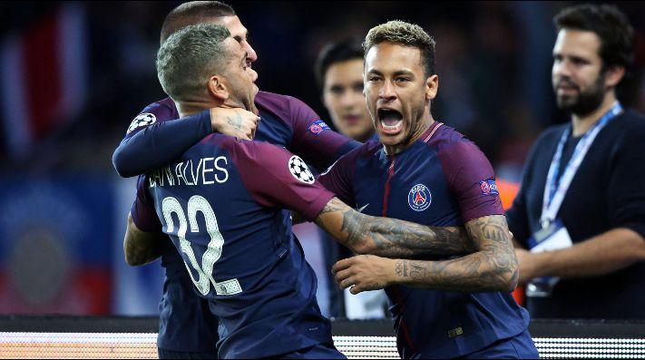 PSG remontó al Niza con goles de Di María y Alves