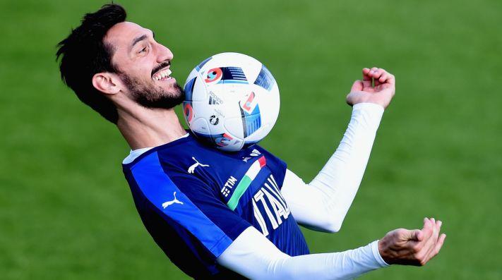 Italia le rendirá homenaje a Astori en el amistoso frente a Argentina