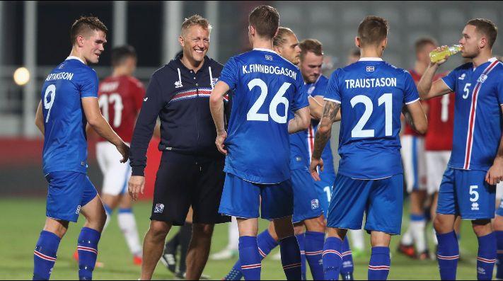 Islandia, equipo con el que debutará Argentina en Rusia, fue goleado