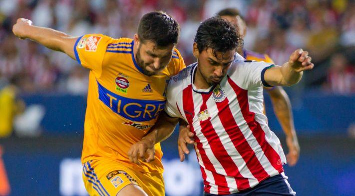 Tigres logra victoria sobre Chivas 2-0