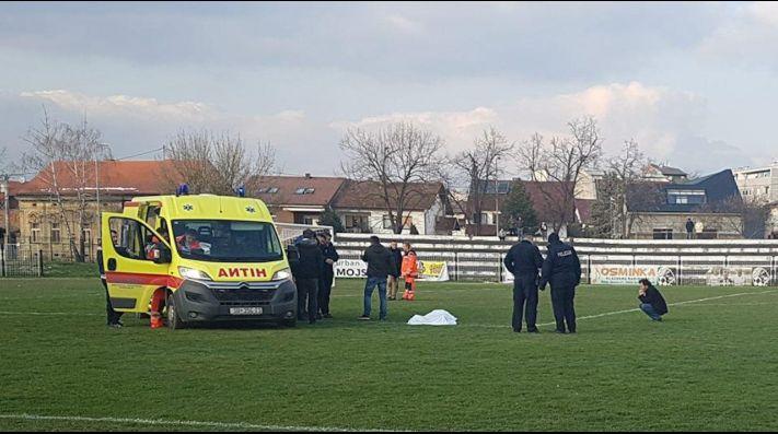 Terrible: Un jugador croata murió en pleno partido