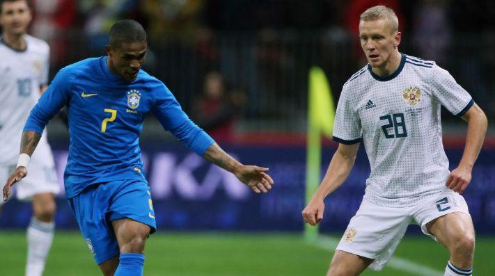 Francia derrotó a Rusia por 3-1 en gran exhibición