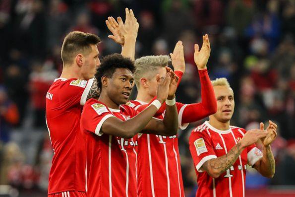 El Bayern remonta y vence 2-1 a domicilio al Sevilla