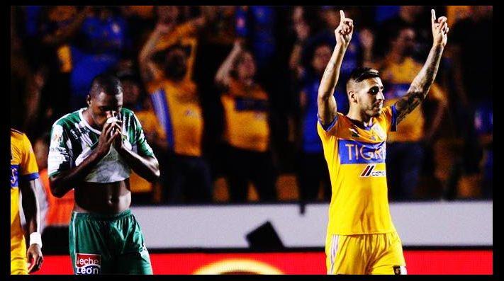 Tigres masacró a goles a León