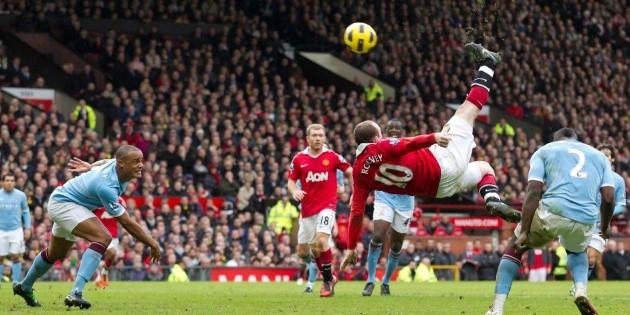 Manchester City Contra Chelsea: Wayne Rooney Eligió Su Chilena Contra El Manchester City