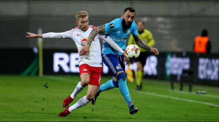 Fútbol en vivo: Olympique Marsella vs RB Leipzig, UEFA Europa League 2018