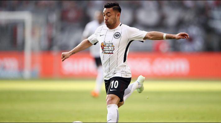 Marco Fabián se estrena en la temporada, en derrota del Frankfurt