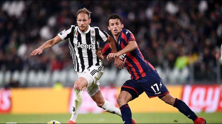 Con Cuadrado 22 minutos, Juventus cedió puntos: empató 1-1 Crotone
