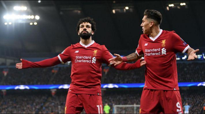 Salah, mejor que Messi en el FIFA 18