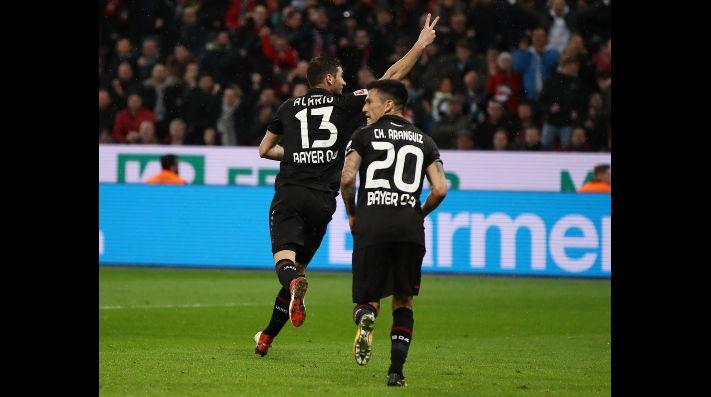Charles Aránguiz estuvo presente en derrota de Bayer Leverkusen ante Stuttgart