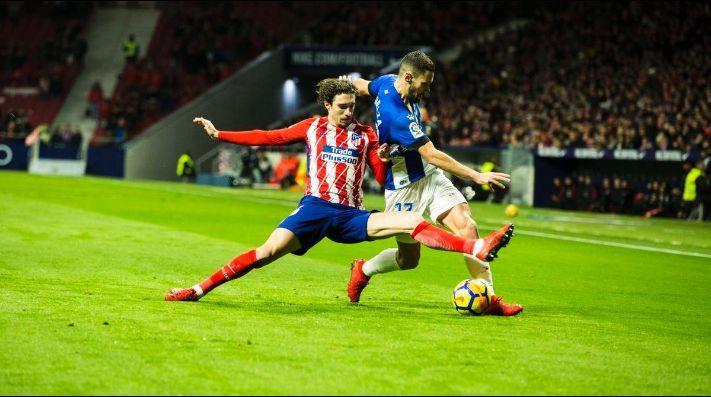 Deportivo Alavés vs Atlético de Madrid, LaLiga 2018 — En vivo