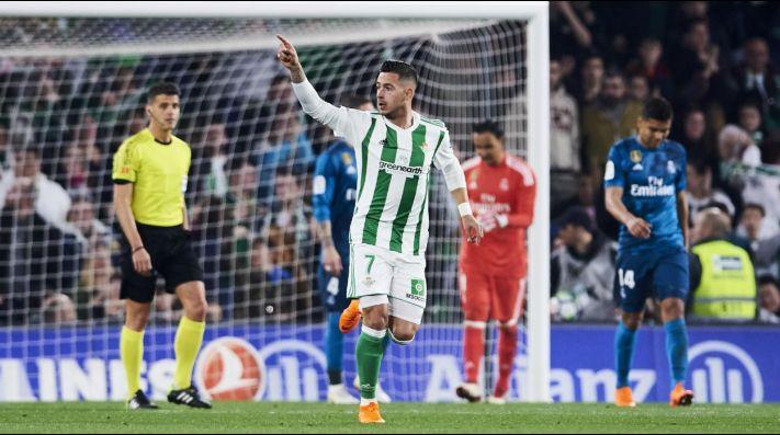 Asistencia de Andrés Guardado impulsa al Real Betis