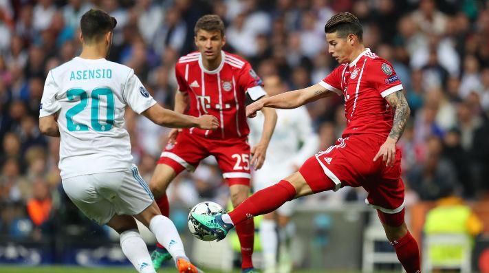 Mamá de James Rodríguez arremetió contra el árbitro del Real Madrid - Bayern