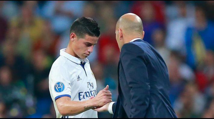 No célebre mi gol porque fui feliz en el Madrid: James Rodríguez