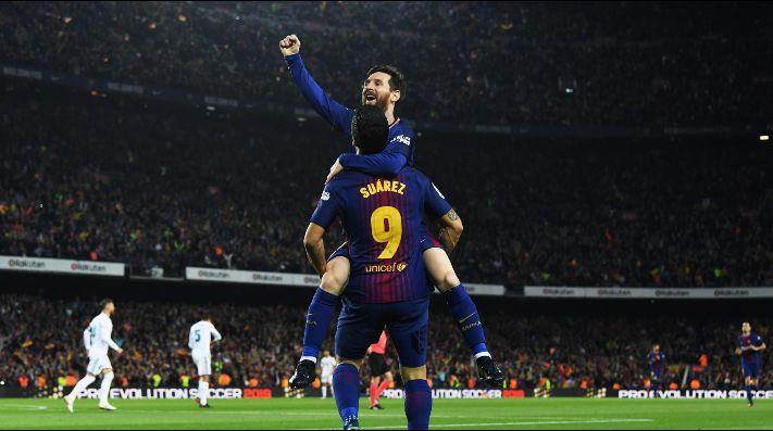 Messi le da un empate a Barcelona