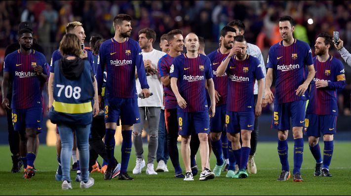 Barcelona prepara la despedida para Iniesta