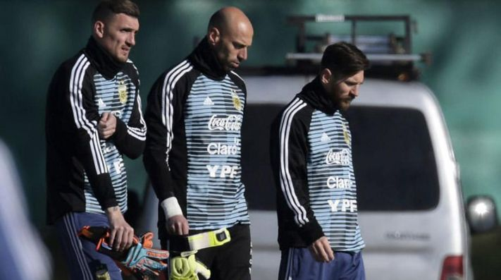 Es un privilegio compartir cada entrenamiento con Messi